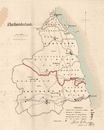 Northumberland county map. Divisions electoral boroughs. REFORM ACT. DAWSON 1832